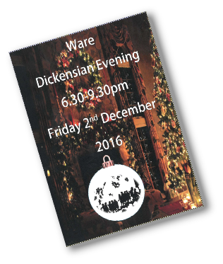Ware's Dickensian Evening